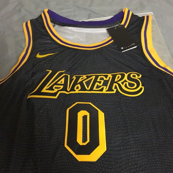 new product b69c4 b623a Kyle Kuzma Laker Nike City Edition Jersey NWT